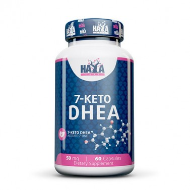 7-Кето ДХЕА / 7-KETO DHEA 50mg HAYA LABS - 60 Капсули