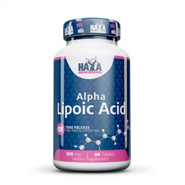 Алфа липоева киселина / Alpha Lipoic Acid 300mg HAYA LABS - 60 Таблетки