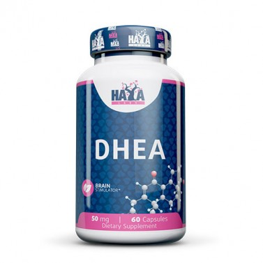 DHEA / ДХЕА 50mg HAYA LABS - 60 Капсули