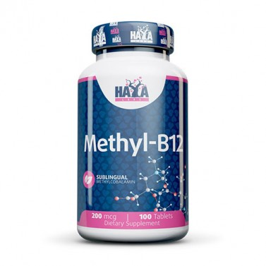 Витамин B12 Метилкобаламин / Vitamin B12 Methylcobalamin 200mcg HAYA LABS - 100 Табл.