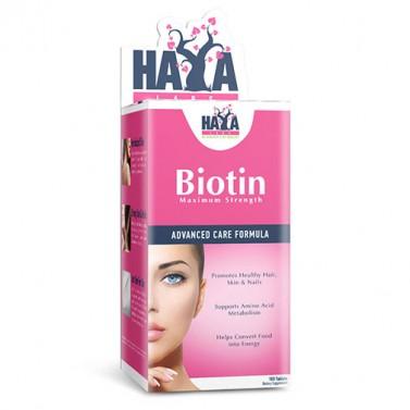 Биотин Максимум / Biotin Maximum Strength 10000 mcg HAYA LABS - 100 Таблетки