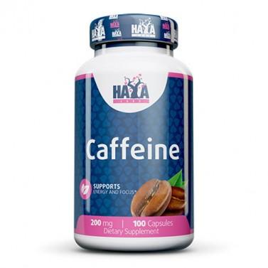 Кофеин 200mg HAYA LABS - 100 Капсули