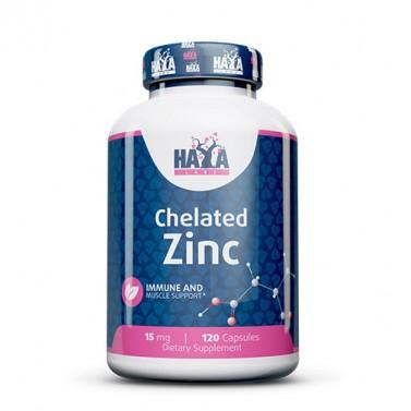 Цинк / Zinc 15mg HAYA LABS - 120 Капсули