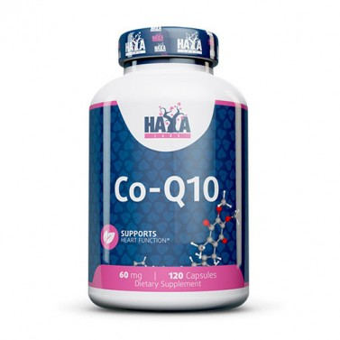 Коензим Q10 60mg HAYA LABS - 120 Kапсули
