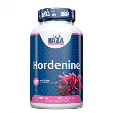 Хорденин / Hordenine 98% 100 mg HAYA LABS - 60 Капсули