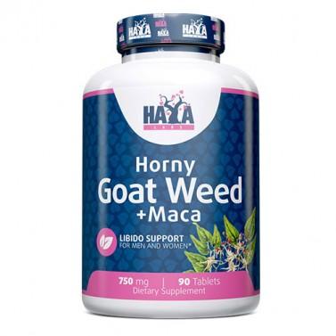 Екстракт от рога от кози плевели 750 mg + MACA HAYA LABS - 90 Таблетки