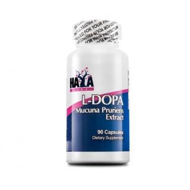 L-DOPA / Л-Допа Mucuna Pruriens Extract HAYA LABS - 90 капсули