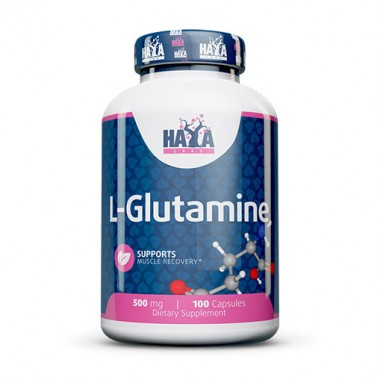 Л-глутамин 500 mg HAYA LABS - 100 Капсули