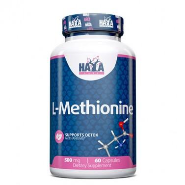 Л-Метионин / L-Methionine 500mg HAYA LABS - 60 Капсули