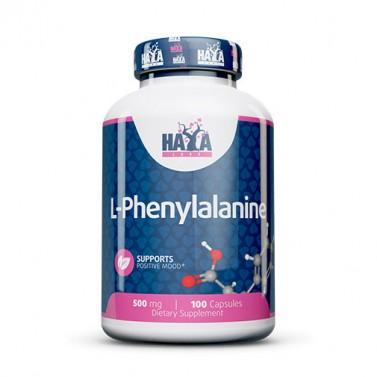 Л-фенилаланин / L-phenylalanine 500 mg HAYA LABS - 100 Капсули