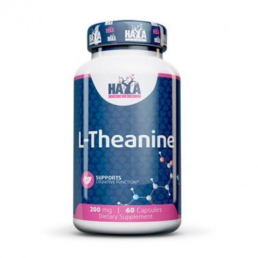 Л-теанин / L-Theanine 200 mg HAYA LABS - 60 Капсули