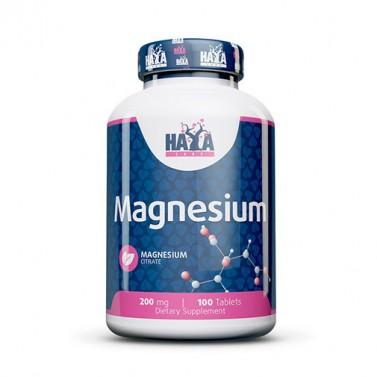 Магнезий цитрат / Magnesium Citrate 200mg HAYA LABS - 100 Таблетки