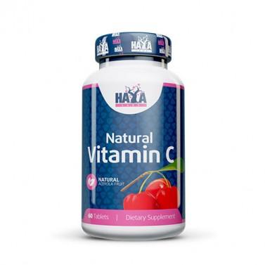 Натурален витамин C от органичен плод ацерола HAYA LABS - 60 таблетки