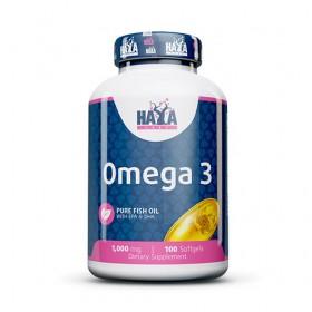 Омега 3 / Omega 3 1000 mg HAYA LABS - 100 Меки капсули