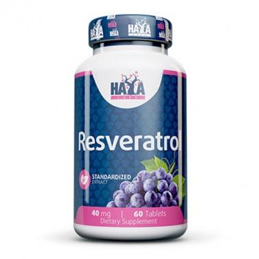 Ресвератрол / Resveratrol 40mg HAYA LABS - 60 Таблетки