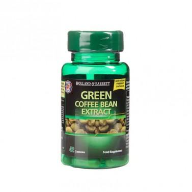Екстракт от зелено кафе на зърна / Green Coffee Bean Extract 400mg HOLLAND AND BARRETT  - 42 Капсули