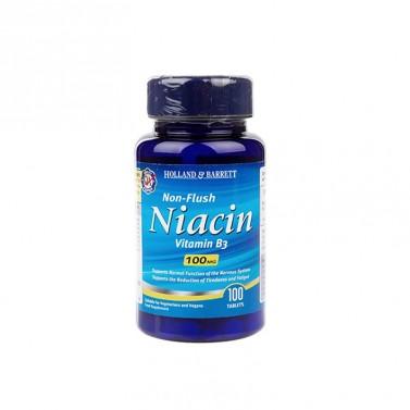 Витамин B3 / Non-Flush Niacin 100 mg HOLLAND AND BARRETT - 100 Таблетки