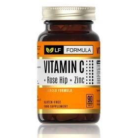 Витамин С + Шипка + Цинк / Vitamin C + Rose hip + Zinc  Life Formula - 90 Капсули за дъвчене