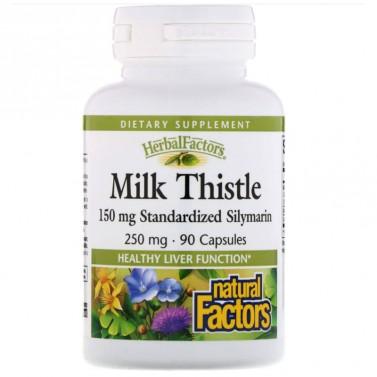 Бял трън / Milk Thistle 250 mg Natural Factors - 90 Капсули