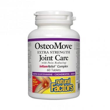 OsteoMove Грижа за ставите 1430 mg Natural Factors - 60 / 120 / 240 Таблетки