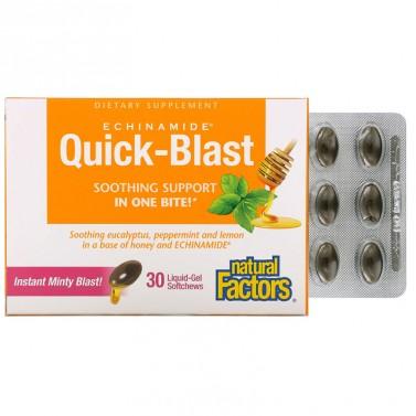 Echinamide Quick-Blast Anti-rhume при настинка и грип 85 mg Natural Factors - 30 капсули