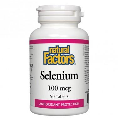 Селен / Selenium 100 mcg Natural Factors - 90 Таблетки
