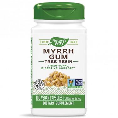 Смола от смирна / Myrrh Gum 550 mg  Nature's Way - 100 Капсули