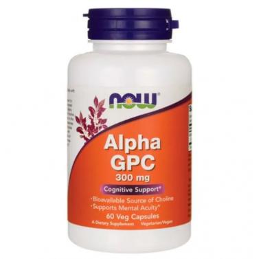 Алфа GPC / Alpha-GPC 300mg Now - 60 Капсули