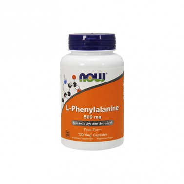 L-phenylalanine / Л-Фениланин 500 mg Now foods - 120 Капсули