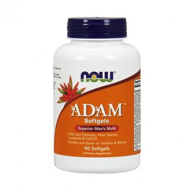 ADAM Superior мултивитамини за мъже NOW - 90 Меки капсули