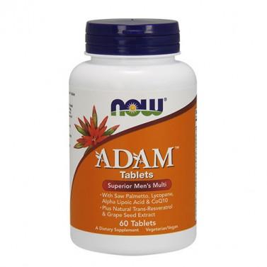 ADAM Superior мултивитамини за мъже NOW - 60/120 Таблетки