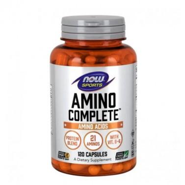 Амино Комплийт / Amino Complete NOW - 120 Капсули