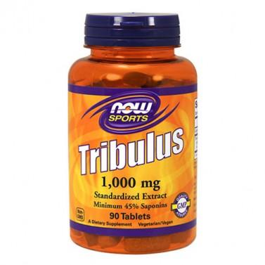 Бабини зъби / Tribulus Terrestris 1000 mg NOW - 90 Таблетки