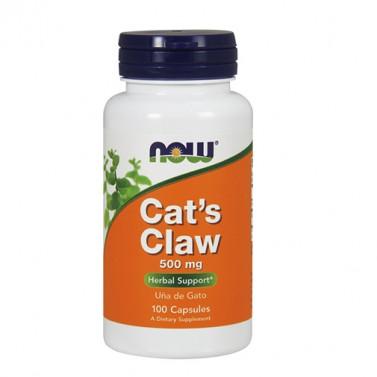 Котешки нокът 500 mg NOW - 100 Таблетки