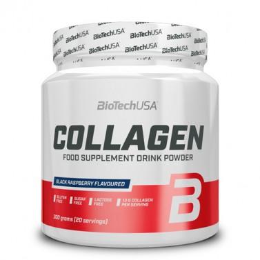 Колаген BIOTECH USA - 300 g с вкус лимонада/къпина