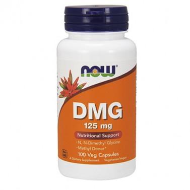DMG / ДМГ Диметилглицин 125 mg. Now Foods - 100 Капсули