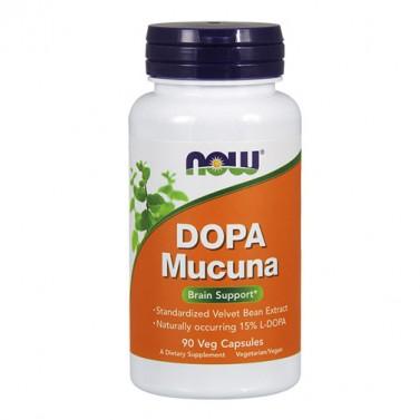 DOPA Mucuna NOW - 90 Вега капсули