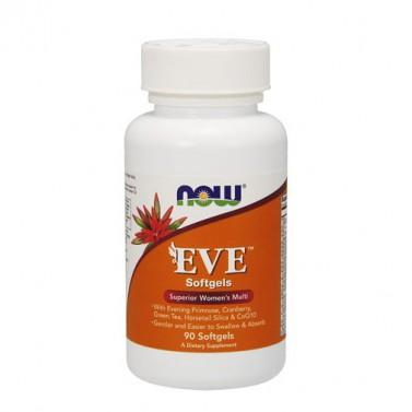 Еве / Eve женски мнултивитамин NOW - 90 / 120 Меки капсули