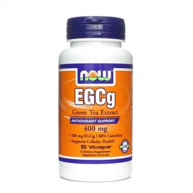 Екстракт от зелен чай EGCg 400mg Now Foods - 90 Вега капсули
