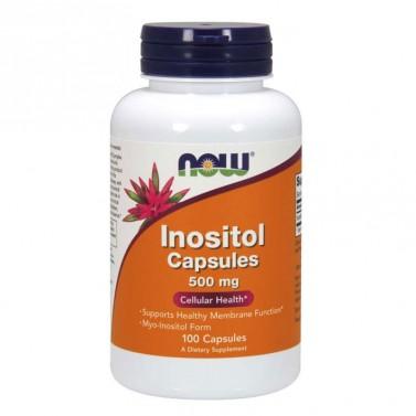Инозитол / Inositol 500 mg NOW - 100 Капсули