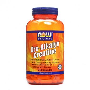 Kre-Alkalyn креатин Now Foods - 120/240 Капсули