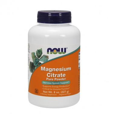 Магнезиев цитрат / Magnesium citrate NOW - 227g