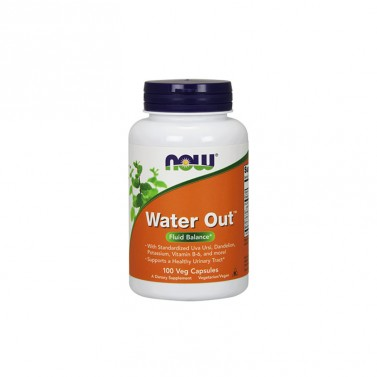 Water out / Уотър аут при задържане на вода NOW - 100 Капсули