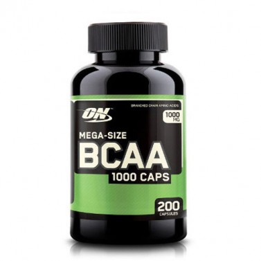 BCAA Мега 1000 mg OPTIMUM NUTRITION - 200 / 400 Капсули