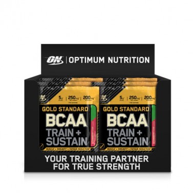 Gold Standard BCAA Train + Sustain Sashet OPTIMUM NUTRITION -  24x19g
