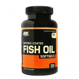 Рибено масло / Enteric-coated Fish Oil OPTIMUM NUTRITION - 100 /200 Меки капсули