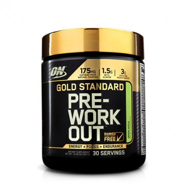 GOLD STANDARD PRE-WORKOUT OPTIMUM NUTRITION - 30 дози