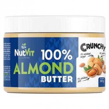 100% Бадемово масло хрупкаво / Almond Butter Crunchy OstroVit - 500 гр.
