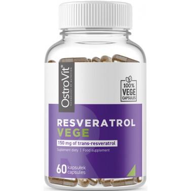 Ресвератрол / Resveratrol VEGE 150 mg - OstroVit 60 капсули