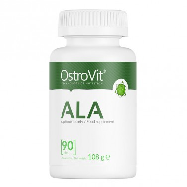 ALA / Алфа липоева киселина OstroVit - 90 таблетки